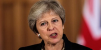 Theresa May puts on defiant face despite blistering media reaction over EU rejection
