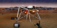 NASA's InSight lander has detected 1st 'marsquake,' scientists say