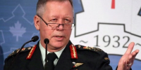 Top general says military started dealing with suspected neo-Nazi in the spring