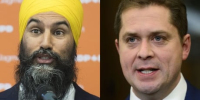 Singh says NDP wouldn't prop up Scheer minority government due to 'disgusting' gay marriage speech