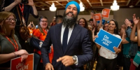 'Dream no little dreams': Singh reaches into NDP lore to pitch election platform