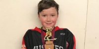Remembering Ryder: Northern Manitobans hang hockey jerseys for boy lost to cancer